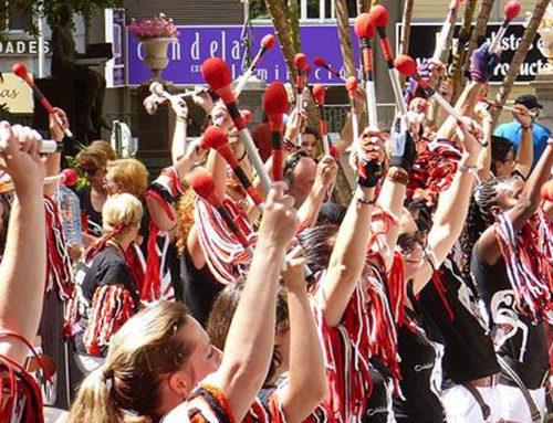 Los tambores por la convivencia de Bloko del Valle despiden el SUMA Festival